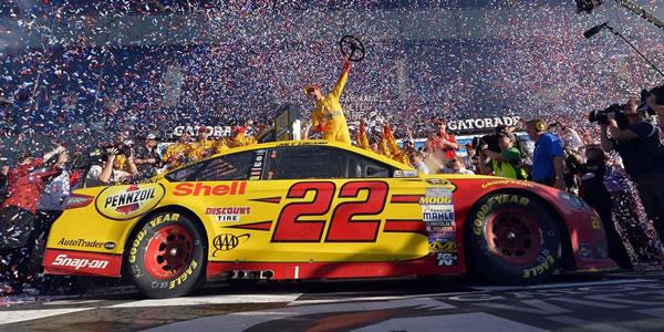 Joey Logano Daytona 500 wINNER