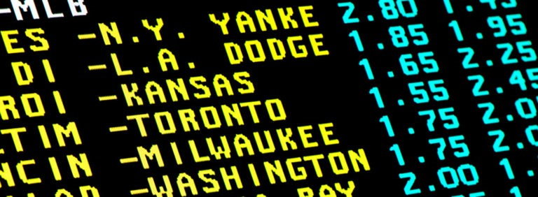 MLB Odds Board