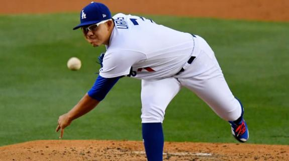 Julio Urias Dodgers Starting Pitcher