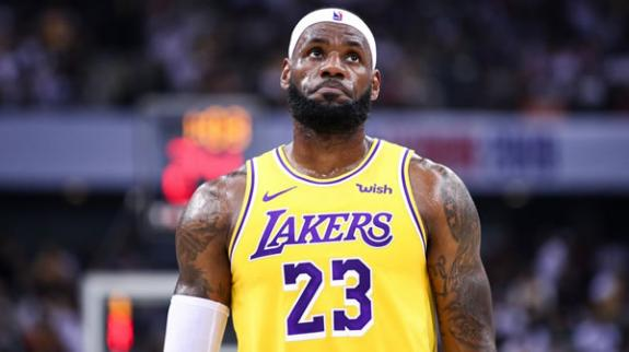 LA Lakers Lebron James