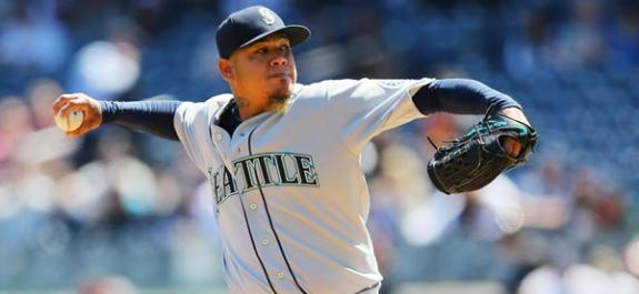 Felix Hernandez Mariners Starting Pitcher MLB